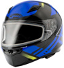 Ff-49 Full-Face Berg Snow Helmet Black/Blue 2X