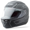 FF-88 Full-Face Derk Helmet Flat Black/Silver X-Small