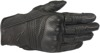 Mustang V2 Leather Motorcycle Gloves Black X-Large