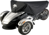 Can-Am Spyder Half Cover Black - For 08-16 Can-Am Spyder RS