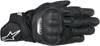 SP-5 Motorcycle Gloves Black X-Large
