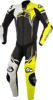 GP Plus v2 One-Piece Suit Black/White/Yellow US 2XL