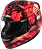 Airmada Full Face Helmet Red 2X-Large