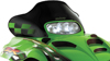 Cobra Windshield Black Green Flag - For 00-07 Arctic Cat Panther Cat ZR ZL