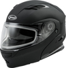 Md-01S Modular Snow Helmet Matte Black - Small