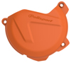 Clutch Cover Protector Orange - For 13-16 KTM 250/350