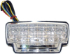 Clear Integrated LED Tail Light - For 07-12 Honda CBR600RR