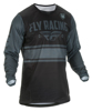Kinetic Mesh ERA Jersey Black/Grey Youth X-Large