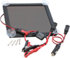 "2.5W Solar Battery Charger 9.45""X9.45""X0.67"" - For 12v Charging"