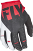 Kinetic Riding Gloves For MX & Off-Road Red/Black Sz 4