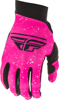 Youth Pro Lite Gloves Neon Pink/Black Size 04