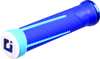 AG1 Lock-On ATV Grips Blue & Bright Blue - For Thumb Thrt. ON PWC ATV & Snowmobiles