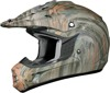 FX-17 Wood Camouflage Full Face Offroad Helmet 4X-Large