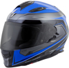 EXO-T510 Full-Face Tarmac Motorcycle Helmet Blue/Black X-Large