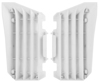 Radiator Louver Cover White - For Yamaha 14-18 YZ250F YZ450F WR250F