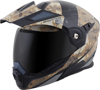 EXO-AT950 Modular Battleflage Motorcycle Helmet Sand Medium