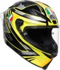 Corsa R Full Face Street Helmet Multi/Yellow 2X-Large