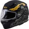FF-49S Yarrow Helmet Full-Face Matte Black/Gold Large