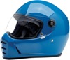 Lane Splitter Full Face Street Motorcycle Helmet Blue 2X-Large