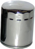 Oil Filter Chrome - For 80-18 H-D Tour Softail Dyna Sportster