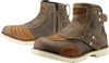 Icon 1000 El Bajo Full Grain Leather Boots - Oiled Brown Women's Size 10