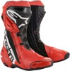 Mamola Street Riding Boots Red/Black/White US 11.5