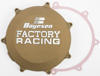 Magnesium Color Factory Racing Clutch Cover - For 19-20 Kawasaki KX450