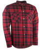Marksman Riding Flannel Black/Red 4X-Large