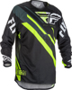 Evolution 2.0 Jersey Black/Hi-Vis/White X-Large