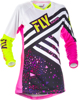 Kinetic Women's Jersey Neon Pink/Hi-Vis 2X-Large