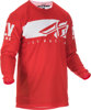 Kinetic Shield Jersey Red/White Youth Small