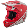 F2 Carbon Rewire Helmet Red/Grey 2XL