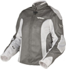 Ladies Coolpro II Mesh Riding Jacket White Small