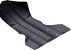 Float Plate Black - For 11-16 Polaris