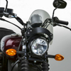 Flyscreen Windscreen Smoke Black Hardware - 84-19 Motorcycle
