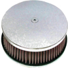 "HP Custom Round Air Cleaner 5-7/8"" Smooth Chrome - For 88-16 HD"