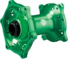 MX1 Front Hub Green - For 06-17 Kawasaki KX125 KX250 KX450