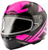 Ff-49 Full-Face Berg Snow Helmet Black/Pink Xs