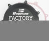 Black Factory Racing Clutch Cover - For 19-20 Kawasaki KX450
