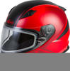 Youth GM-49Y Hail Snow Helmet Red/Black Youth Large