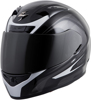 EXO-R710 Full-Face Focus Motorcycle Helmet Silver Medium