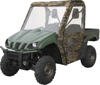 Cab Enclosure Black - For 05-16 Kawasaki Mule