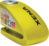 "XX6 Alarm Disc Lock 3.3"" X 2.3"" Yellow"