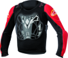 Bionic Jacket Black/Red Youth