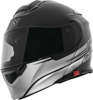 SS4100 SS Logo Helmet Satin Black X-Large