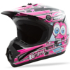 Youth Gm-46.2Y Superstar Helmet Black/Pink - Youth Small