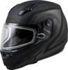 MD-04S MODULAR DOCKET SNOW HELMET MATTE DARK SIL/BLK - Small