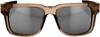 Type-S Sunglasses Sepia Brown w/ Silver Mirror Lens