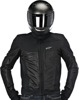 Luc Air Street Riding Jacket Black/Gray US 3X-Large
