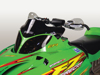 Cobra Windshield Extra-Low Black - For 03-11 Arctic Cat Sabrecat Crossfire